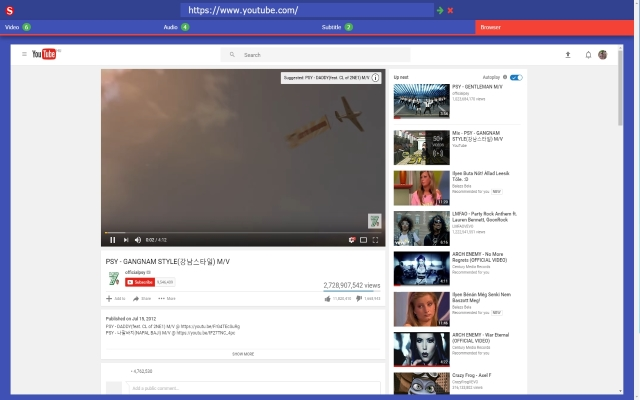 Subtitle Downloader: Chrome extension to download videos and